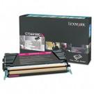 Lexmark C746, C748 Magenta Return Program Toner Cartridge