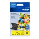 Brother LC75YS Ink Cartridge Yellow
