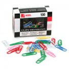 ACCO Vinyl Coated Colour Paper Clips