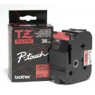 Brother TZE461 P-Touch 36mm Laminated Tape, Black on Red
