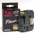 "Brother TZ651P-Touch 1"" Laminated Tape, Black on Yellow"