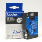 Brother TC291 Black On White 9MM Laminated Tape for P-TOUCH