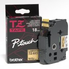 "Brother TZE641 P-Touch 3/4"" Laminated Tape, Black on Yellow"