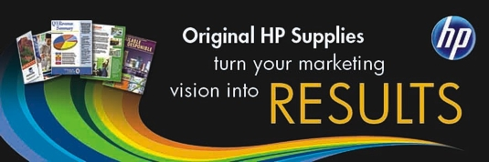 Image result for hp paper and media banner